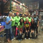 Service Project at the Corpus Christi Food Bank
